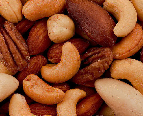 nuts for stress