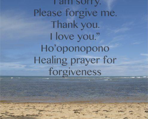 Ho'oponopono Forgiveness Acupuncture